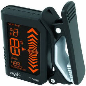 Musedo T-60 GB Guitar Bass Clip-on Tuner - Jakes Main Street Music