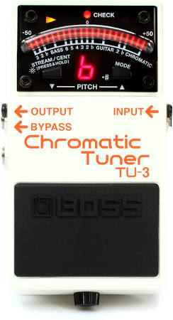 Boss TU-3 Chromatic Tuner Pedal with Bypass - Jakes Main Street Music