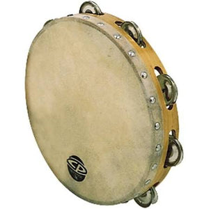 "CP378 8"" Skin-Head Single-Row Tamborine - Jakes Main Street Music"