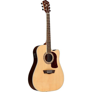 Washburn HD20SCE Cutaway Acoustic/Electric Dreadnaught Guitar - Jakes Main Street Music