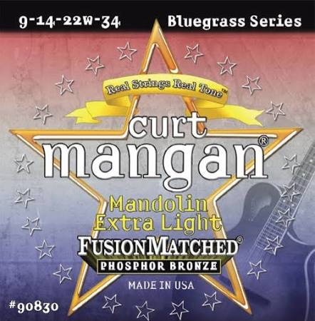 Curt Mangan Phosphor/Bronze Mandolin Strings - Jakes Main Street Music