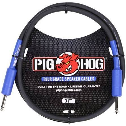 Pig Hog 3-Foot Tour Grade Speaker Cable PHSC3 - Jakes Main Street Music
