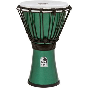 "TOCA Freestyle Colorsound 7"" Djembe - Green"
