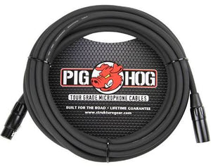 "Pig Hog  PHM25 Tour Grade 25"" Mic Cable - Jakes Main Street Music"