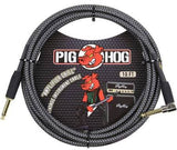 Pig Hog 10' Woven Instrument Cable - Jakes Main Street Music