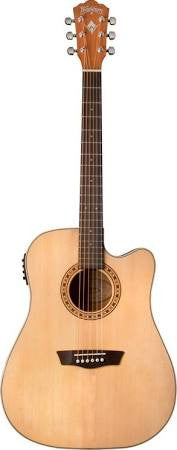 Washburn WD7SCE  Acoustic/Electric Dreadnaught Guitar - Jakes Main Street Music