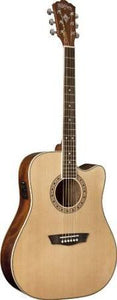 Washburn WD10CE Dreadnaught Acoustic/Electric Guitar - Jakes Main Street Music