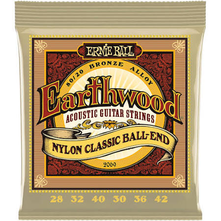 Ernie Ball Ball-End Nylon Classical Strings No. 2069