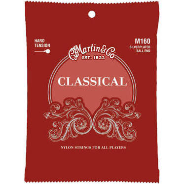 Martin M160 Ball End Silver Plated Classical Strings