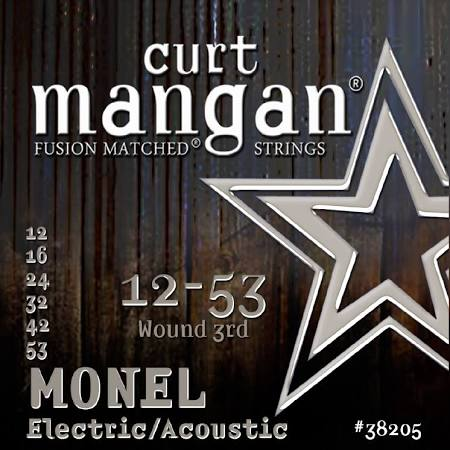 Curt Mangan Monel Acoustic/Electric Guitar Strings