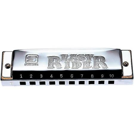 Suzuki Easy Rider Harmonica  Key of C or G, (EZR-20 BS)