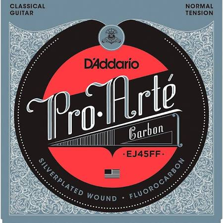 D'Addario EJ45FF Carbon Classical Guitar Strings - Normal Tension