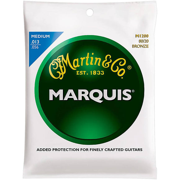 Martin M1200 Marquis 80/20 Acoustic Guitar Strings - Medium - Jakes Main Street Music