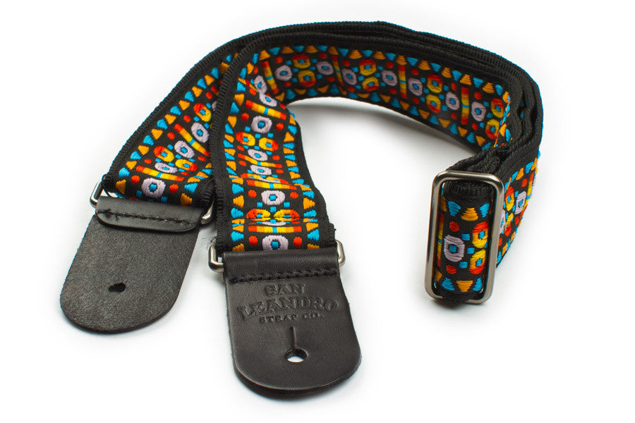 "San Leandro ""Sunset"" Padded Guitar Strap VP-028"