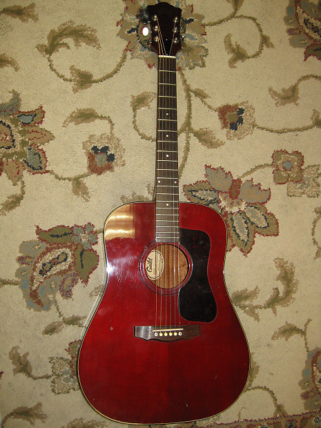 Guild D-25 CH (Cherry ) 1977 - Jakes Main Street Music