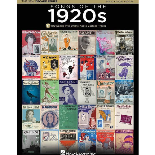 Songs Of The 1920s - Hal Leonard The New Decade Series
