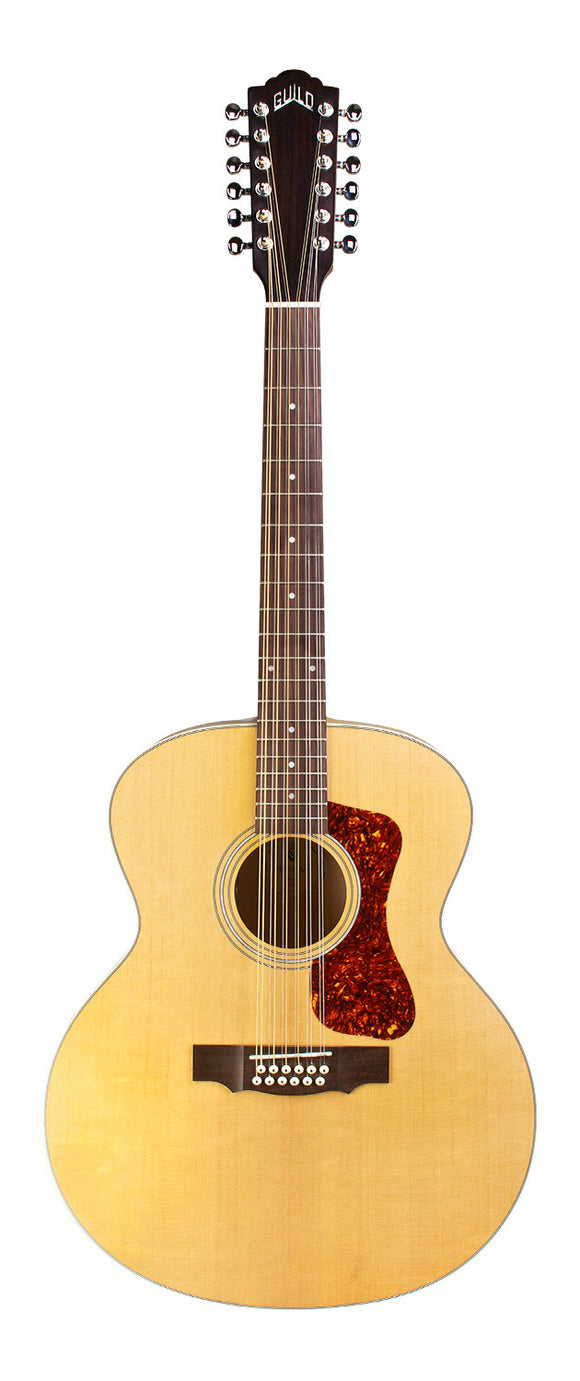 Guild F-2512E Maple Jumbo 12-String Acoustic Guitar - Jakes Main Street Music