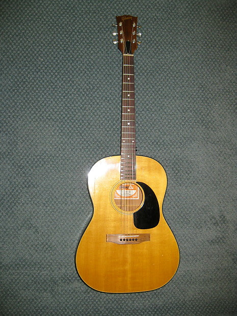 1970s Gibson B-25 Deluxe (Natural) - Jakes Main Street Music