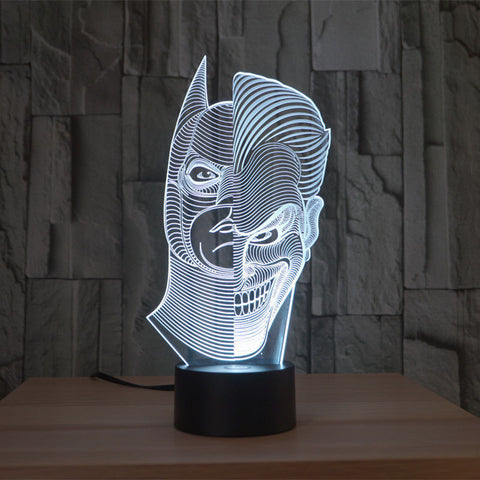Batman / Joker Lamp
