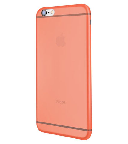 Peach ClearWrap Case