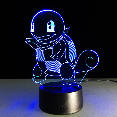 Squirtle Lamp