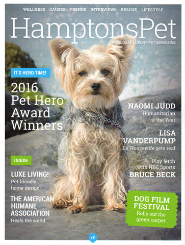 Hamptons Pet magazine cover
