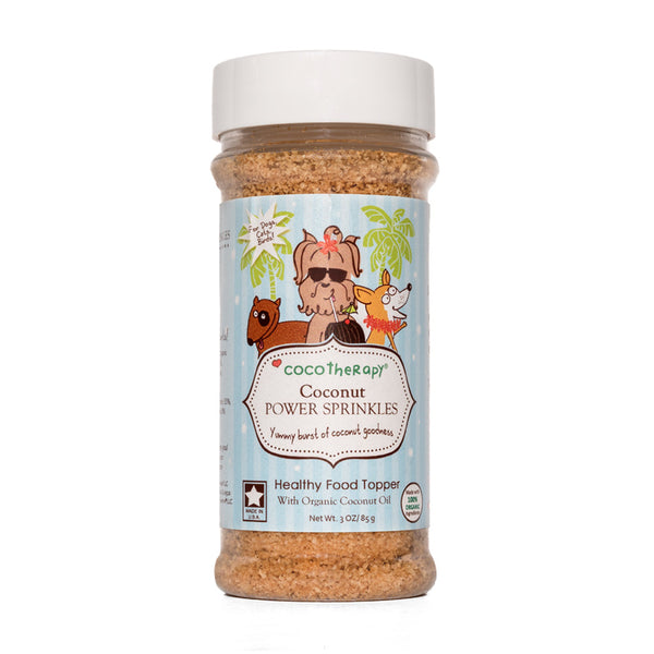 Coconut Power Sprinkles - Raw Coconut for dogs and cats