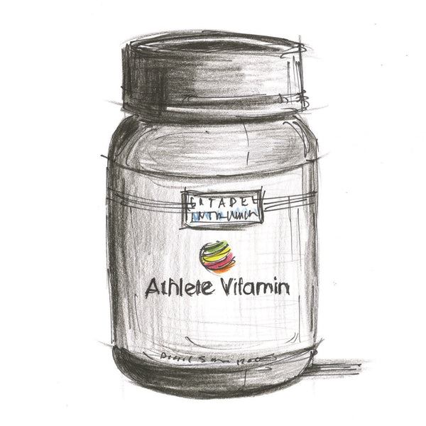 Athlete Vitamin Story. Part 1. A Fresh Approach.