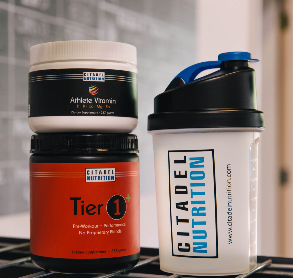 citadel nutrition athlete vitamin