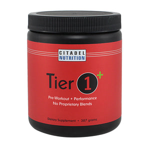 Tier 1+: Pre-Workout