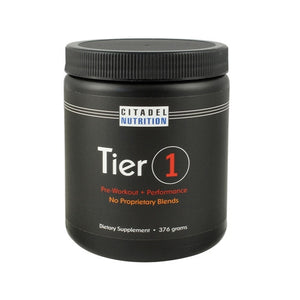 Tier 1: Pre-Workout