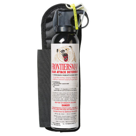 Frontiersman 9.2 oz Bear Spray Repellent with Holster