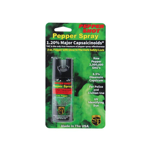 Pepper Shot 1.2% MC 2 oz pepper spray
