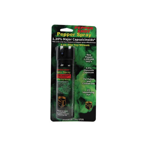 Pepper Shot 1.2% MC 4 oz pepper spray