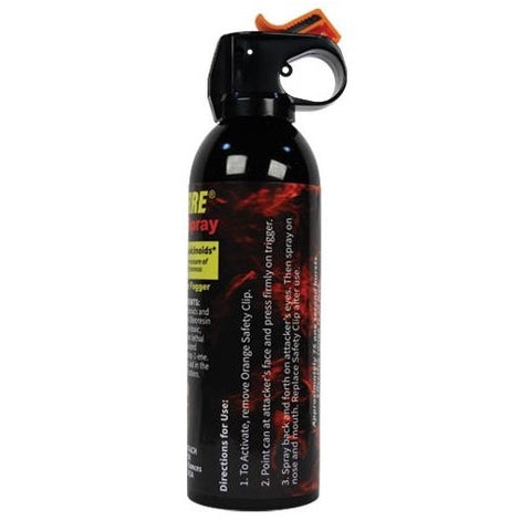 WildFire 16oz Fire Master Pepper Spray - Fog Pattern