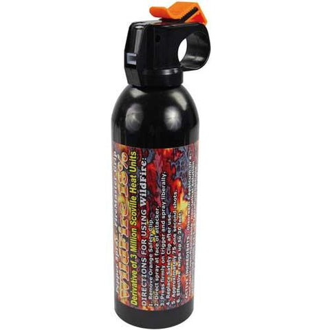 WildFire 9 oz Fire Master Pepper Spray - STREAM