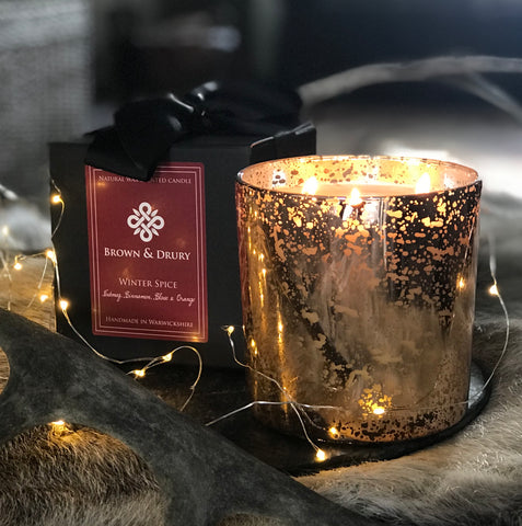 Large Winter Spice Candle