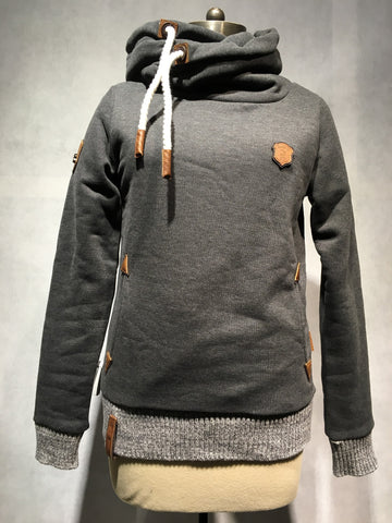 "Naketano Sweatshirt ""The Dark Side"" (Anthracite Melange)"