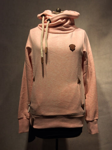 Naketano Sweatshirt Darth VIII (8) - XXS / Candy Muschi Melange - 1