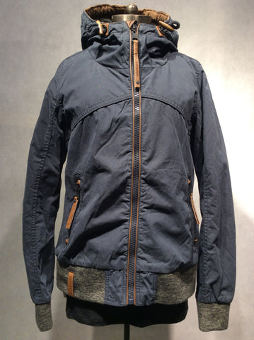 "Naketano Jacke ""Pallaverolle"" (Art Name: 1601-0512-067) - XXS / Dark Blue - 1"
