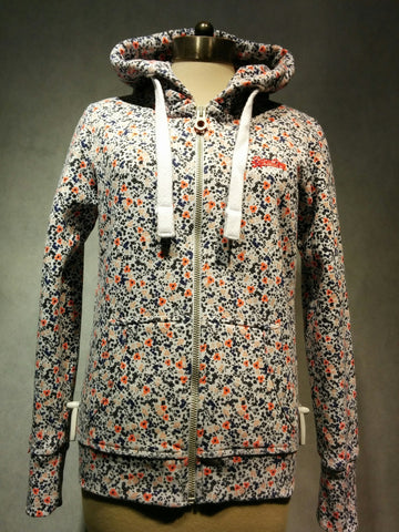 "Superdry Sweatjacke ""AOP PRIMARY ZIPHOOD"""
