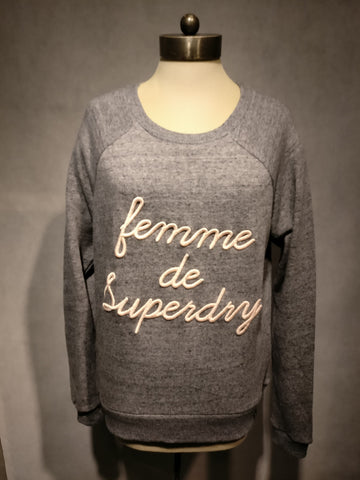 "Superdry Pullover ""APPLIQUE RAGLAN CREW"""