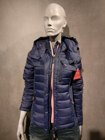 "Superdry Jacke ""FUJI SLIM DOUBLE ZIP HOOD"""