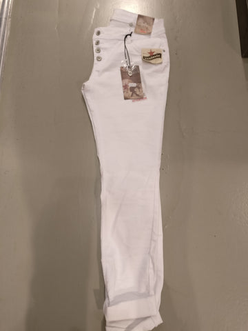 "Buena Vista Malibu Stretch Denim ""White"" (Color: 032)"