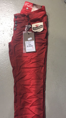 "Buena Vista Malibu Stretch Twill ""Red"" (Color: 999)"