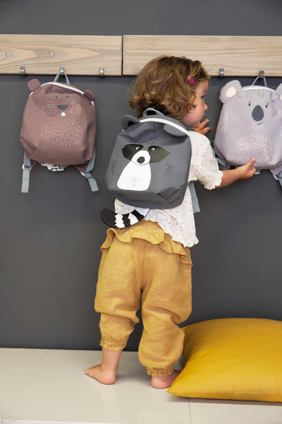 Lassig - 4kids - Tiny Backpack - About Friends Racoon