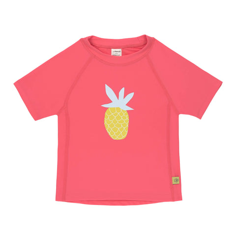 Lassig Swimwear 2019 - Girls - Short Sleeve Rashguard - Pineapple