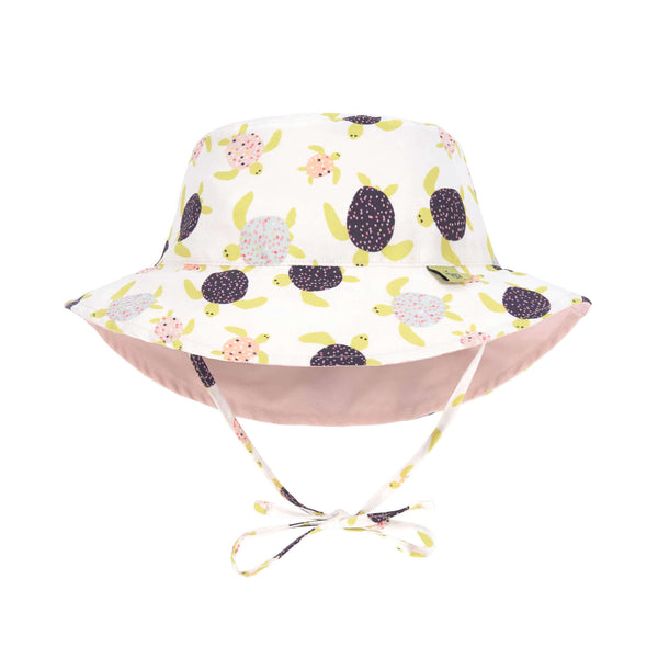 Lassig Swimwear - Girls - Reversible Sun Protection Hat - Penguin Peach