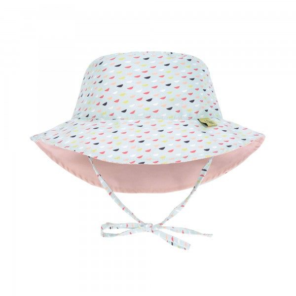 Lassig Swimwear - Girls - Reversible Sun Protection Hat - Fish Scales