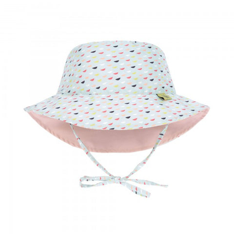 Lassig Swimwear 2019 - Girls - Reversible Sun Protection Hat - Fish Scales